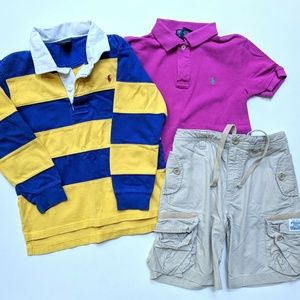 Ralph Lauren Polo Rugby Shorts Lot 6 7